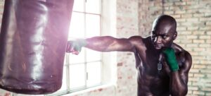 10 Minute Punch Bag Workout