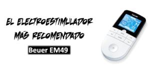 catalogo de los mejores electroestimuladores zona lumbar