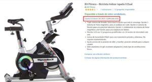 listado de compra de bicicletas estaticas borisan coax mejor valoradas